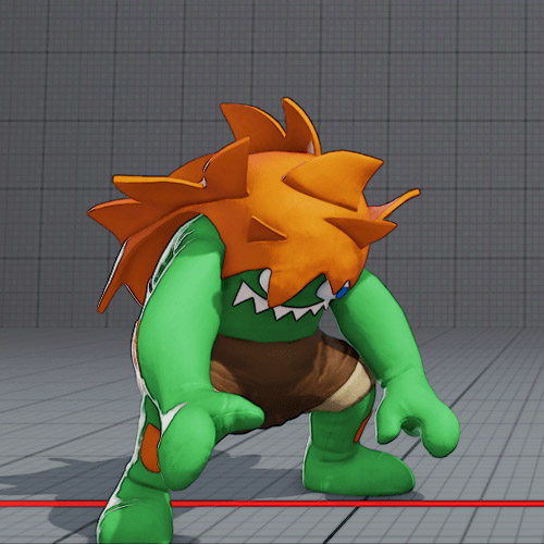 Blanka Story costume is banned