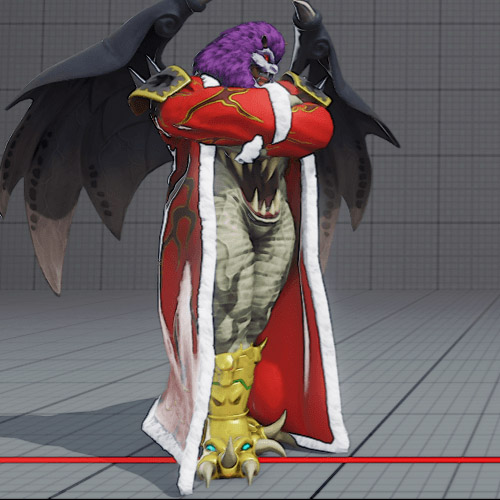 M. Bison Astaroth costume is banned