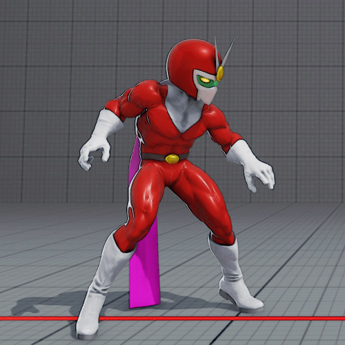 Rashid Viewtiful Joe costume is banned