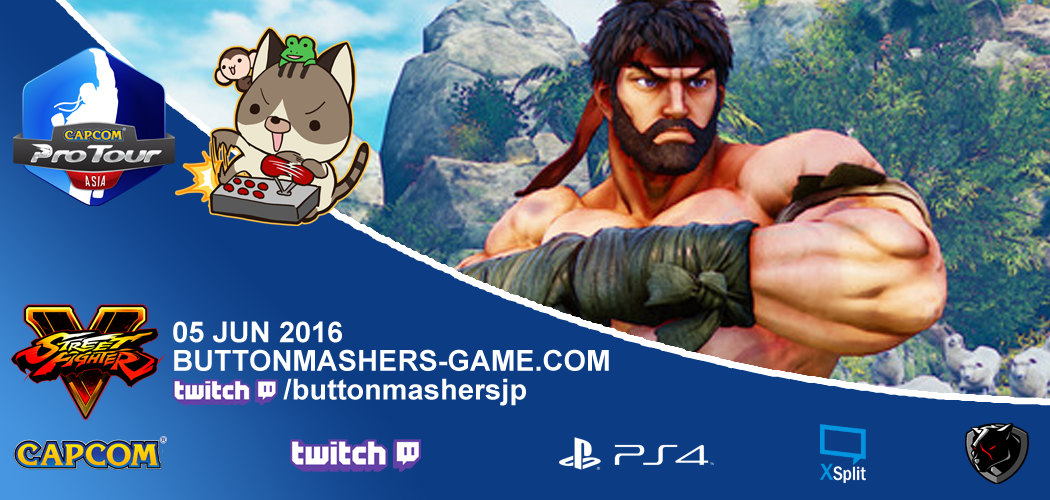 Tokyo Button Mashers 2016 Results