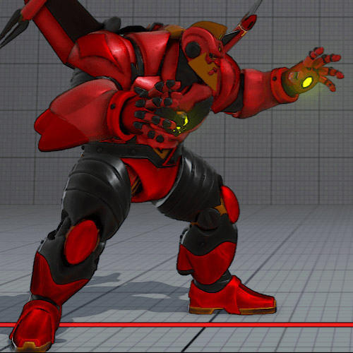 Zangief Mech costume color 2 is banned